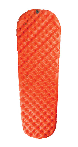 Sea to Summit Ultralight Insulated zelf-opblaasbare slaapmat Small oranje
